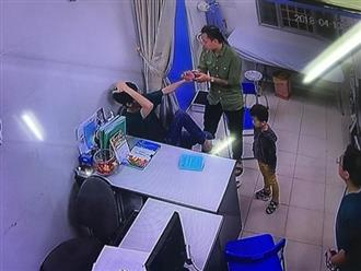 Người đàn ông xăm trổ đấm liên tiếp vào mặt bác sĩ