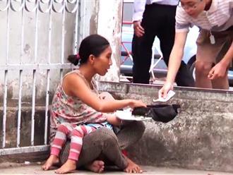Người phụ nữ bế con xin tiền chích ma tuý: Đứng sau là một băng đảng 'xăm trổ hổ báo'