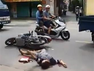 Người phụ nữ bị tai nạn giao thông và sự thờ ơ của người đi đường gây tranh cãi lớn