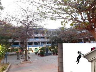 Ninh Thuận: Học sinh hoảng hốt khi chứng kiến người phụ nữ nhảy lầu tự tử tại trường