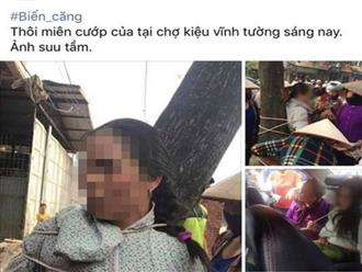 Sự thật vụ người phụ nữ nghi dùng thuật thôi miên để cướp của bị trói vào gốc cây lan truyền trên Facebook