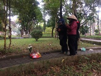 """Người quen nói về hoàn cảnh cô gái tử vong lõa thể trong công viên Hà Nội: """"Tội nghiệp, mẹ mới mất chưa được 49 ngày"""""""