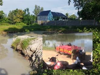Người thân khóc hết nước mắt cạnh thi thể 5 trẻ chết đuối vì lẻn đi tắm hồ