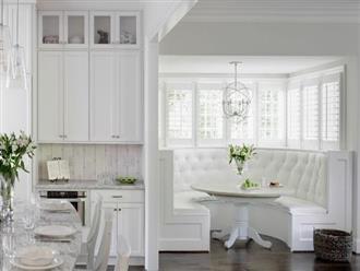 Nhà bếp trong mơ của nhiều người bởi đơn giản nhưng đẹp vượt thời gian
