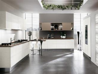 Những mẫu nhà bếp vừa nấu ăn, vừa ngắm cảnh đẹp đến khó tin
