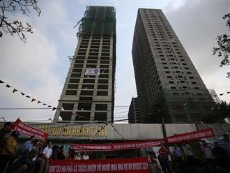 """Nhà ở xã hội Bright City """"vỡ tiến độ"""", Sở Xây dựng phạt 45 triệu đồng"""