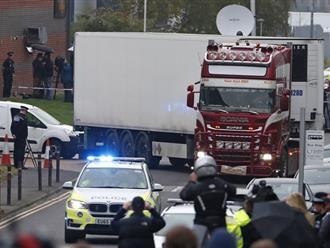 Cảnh sát Essex: Những nạn nhân chết trong container là người Việt Nam