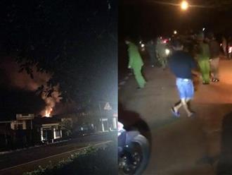 Nổ kho đạn ở Gia Lai, người dân hoảng hốt trong đêm