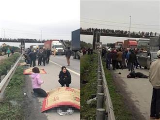 Tai nạn kinh hoàng ở Hải Dương: Xe tải đâm đoàn người đi viếng nghĩa trang, 8 người tử vong