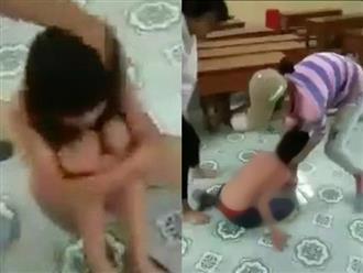 Hưng Yên: Nữ sinh lớp 9 bị nhóm bạn nữ lột quần áo, đánh đập trong lớp phải nhập viện tâm thần điều trị