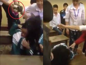 Yên Bái: Nữ sinh lớp 10 bị nhóm bạn đánh hội đồng dã man, nhiều học sinh chỉ đứng nhìn không can ngăn