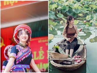Hé lộ nhan sắc thật của nữ sinh Thái Nguyên nổi như cồn sau bài múa trong ngày khai giảng