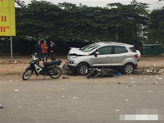 Ô tô 'điên' tông thủng đuôi taxi và hàng loạt xe máy, 4 người thương vong