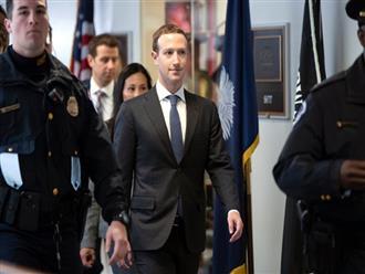 Ông chủ Facebook tại Quốc hội Mỹ: 'Là lỗi của tôi. Tôi xin lỗi'