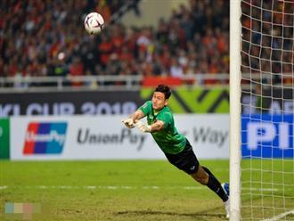 Pha bắt bóng xuất thần của thủ thành Đặng Văn Lâm cứu thua cho đội tuyển Việt Nam