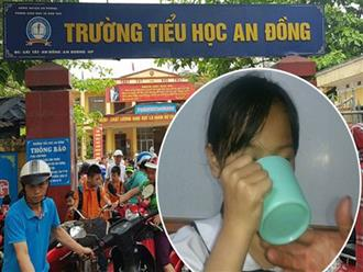 Cô giáo bị sốc tâm lý sau khi phạt học sinh uống nước giặt giẻ lau bảng