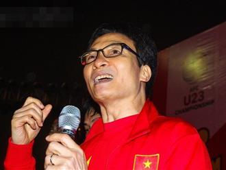 Phó Thủ tướng Vũ Đức Đam: 'Chúng tôi biết ơn các cầu thủ U23 Việt Nam'