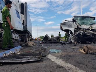 Phó Thủ tướng yêu cầu điều tra, làm rõ vụ xe rước dâu va chạm với xe container làm 13 người chết, 4 người bị thương