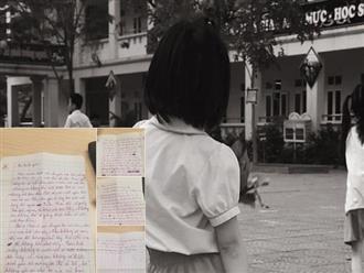Rơi nước mắt bức tâm thư đứa con nhỏ gửi bố: 'Con biết rằng không một ai muốn con có mặt trên đời này cả'