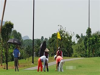 Thanh tra Bộ Xây dựng xử phạt Sân golf 18 hố Kim Bảng - Hà Nam xây dựng trái phép
