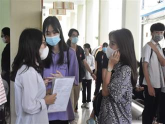 Sáng nay (9/8), hơn 850.000 sĩ tử bước vào kỳ thi chưa từng có giữa mùa dịch COVID-19
