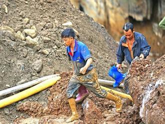 """Sập hầm vàng trái phép ở Hòa Bình: """"Mong tìm được thi thể chứ nằm dưới bùn lạnh lẽo lắm"""""""
