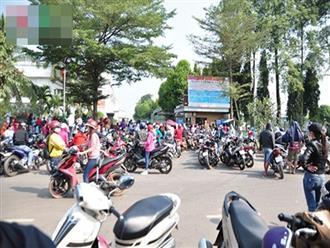 Sát Tết, hàng nghìn công nhân vây công ty đòi lương ở Đồng Nai
