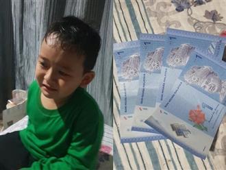 Sau 2 ngày đi học, bé 7 tuổi gây bất ngờ khi tự kinh doanh kiếm tiền