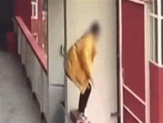 Sau khi viết bản kiểm điểm vì hút thuốc, nữ sinh rơi từ tầng 5 xuống