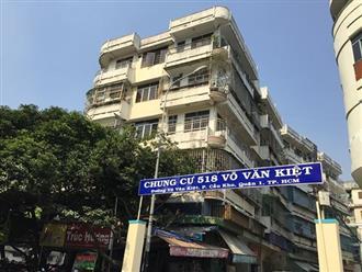Sẽ tháo dỡ, xây mới chung cư nghiêng nguy hiểm ở Sài Gòn