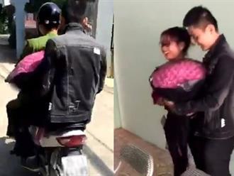 Số đỏ ngày 20/10: Thanh niên được công an chở đi tặng hoa cho vợ vì không đội mũ bảo hiểm