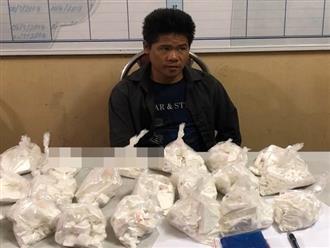 Sơn La: Bắt 1 đối tượng vận chuyển 20 bánh heroin