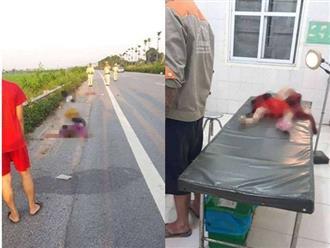 Tai nạn xe máy thương tâm: 3 mẹ con tử vong, chồng bị thương nặng