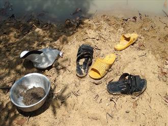 Tắm ao giữa trời nóng, 3 học sinh tiểu học chết đuối