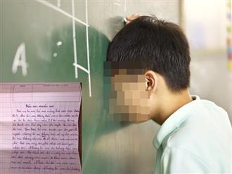 Tâm thư cậu bé lớp 4 gửi bố mẹ khiến nhiều phụ huynh lặng người: 'Lúc bị điểm kém bố mẹ đánh con, con chỉ nghĩ đến cái chết'