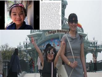 Tâm thư xúc động của mẹ bé Nhật Linh: Đến chết cũng không thể quên khuôn mặt con bị đánh tím bầm, sưng lệch