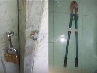 Vũng Tàu: Tên trộm đột nhập nhầm phòng trọ chả có gì để lấy, đã thế còn quên luôn kìm bẻ khóa ở hiện trường