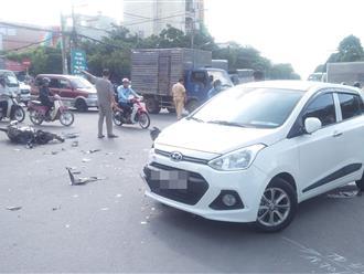 Vượt đèn đỏ, nam thanh niên 20 tuổi tử vong giữa giao lộ ở Sài Gòn