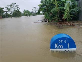 Thừa Thiên Huế: 5 người mất tích, bị thương, 1.100 nhà dân bị ngập lụt