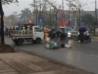Thương tâm tai nạn xe tải cán tử vong thai phụ