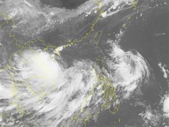 Tin bão mới nhất: Hoàn lưu bão số 4 Podul sẽ gây mưa kéo dài ở Bắc Bộ