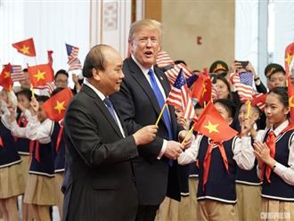 Tổng thống Trump thấy như được 'trở về nhà' khi tới Việt Nam