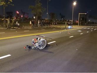 Tông xe máy trong khu đô thị, 1 người chết, 2 nguy kịch
