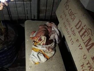 TP. HCM: Phát hiện bé trai còn nguyên dây rốn, bị bỏ rơi trên ghế đá ngoài hẻm