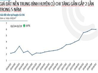 TP.HCM quý 1/2019: Đất nền đắt khách, giá chung cư tăng