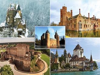 Trầm trồ thiết kế những lâu đài đẹp, ấn tượng nhất thế giới