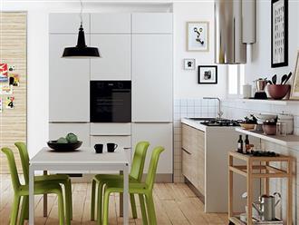 Tròn mắt với những phòng bếp nhỏ nhưng có võ, ai nhìn cũng mê
