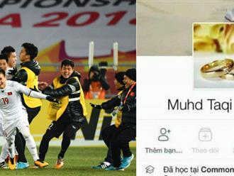 Facebook của trọng tài trận U23 Việt Nam và U23 Qatar không thể tìm thấy sau khi hiệp 1 kết thúc