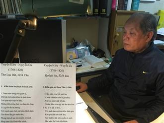 'Truyện Kiều' được PGS.TS Bùi Hiền chuyển thể thành 'Cuyện Kiều': Chỉ cần 10 phút, ai cũng có thể đọc vanh vách!