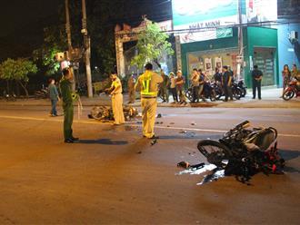 Va chạm với xe bồn, nữ công nhân tử vong trên đường về nhà